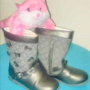 Girl Toddler Rampage Boots Size 9 Used Sold as is